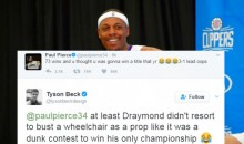 Paul Pierce Tried to Rip Draymond Green With 3-1 Joke & Social Media Destroyed Him (TWEETS)