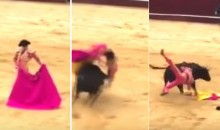Bullfighter Who Said Animals Don't Have Rights Gets Gored Weeks Later, Because Karma (Video)