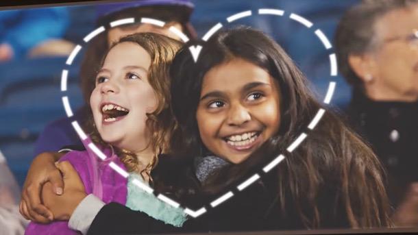 ad council uses pro bowl kiss cam love has no labels