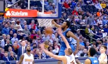 Andrew Wiggins Posterizes Nikola Jokic with Monster Jam and Now He's Dead (Video)