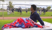 Arizona Wildcats Baseball Team Recreates Spring Training Scene from 'Major League' (Video)