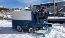 Canadian Farmer Pulled Over for Trying to Clear Snow…with a Zamboni (Pic)