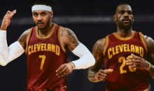 Report: LeBron Pushing Cavs To Trade For Melo Even If It Includes Kevin Love