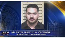 "Colts' David Parry Spewed Homophobic Slurs & Cussed Out Cops During Arrest: ""F**king F**gots, Pu**y Boy'"
