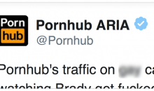 Pornhub Trolls Tom Brady & The Patriots On Twitter