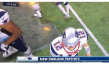 Moron Falcons Fans Think On-Screen Graphic Proves Super Bowl Was Rigged For Patriots