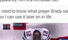 Tom Brady Jokes About Super Bowl Sideline Thoughts on Instagram; Brings up Giants Helmet Catch