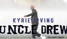 Kyrie Irving is Bringing Uncle Drew To The Big Screen (Video)