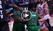 Did Isaiah Thomas Point a Gun Sign To DeMarre Carroll After Hard Foul? (Video)
