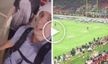 Teens Snuck Into Super Bowl By Fooling Security With Ladder & Watched Entire Game (Video)