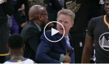 Steve Kerr Goes Ballistic After Technical Foul, Says 'F*ck You' to Ref & Gets Ejected (Video)