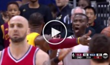 Ref Wants LeBron To Calm Down After He Throws a Major Hissy Fit (Video)