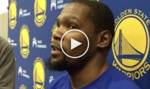 Durant Responds To Shaq: 'I Didn't Know Cops Could Threaten Civilians Like That' (Video)