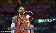 "Steven Adams To The Rim After Missing Free Throw: ""I F*cking Hate You So Much."" (Video)"