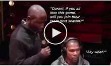 Comedian Hannibal Buress Takes a Shot at Durant During 'NBA 2K' Event (Video)
