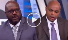 Things Got Heated Between Shaq & Barkley While Arguing Over LeBron: 'I Would've Punched You in The Face' (Video)