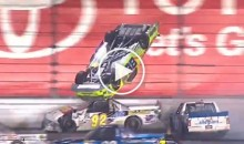 This is Not The Ideal Way To Drive a NASCAR Truck (Video)