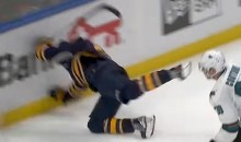 Evander Kane Crashed Head-First Into Boards After Netting OT Winner (Video)
