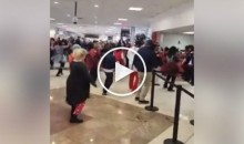 Falcons Fans Get Into an Airport-Wide Dance Off Just Ahead of The Super Bowl (Video)