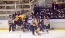 Former NHL Goon Andrew Peters Suspended from Coaching Youth Hockey After Punching Kid During On-Ice Brawl (Video)