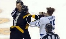 This 45-Second Hockey Fight Will Be The Best Thing You Watch All Day (Video)
