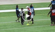 Kirk Cousins Shoves Volunteer Official At Charity Flag Football Game (Video)