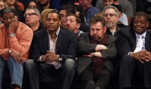 In Midst of Charles Oaklay Fiasco, Knicks Welcome Latrell Spreewell Back to Madison Square Garden (Pic + Video)