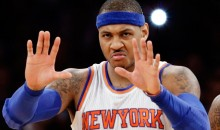 Frustrated & Fed Up Carmelo Anthony Calls Internet Troll an 'Onion Bagel Face' on Instagram (PIC)