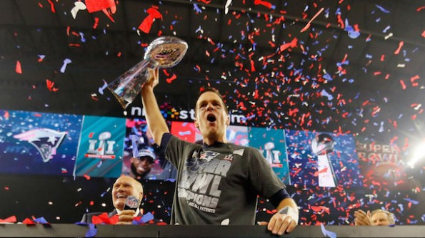 Patriots early favorites Super Bowl 52