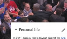 Charles Oakley Gets Wikipedia Update After Being Arrested For Trying To Fight Knicks Owner James Dolan (PIC)