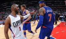 Report: Chris Paul Is Pushing For The Clippers To Trade For Melo Before The Cavs Get Him