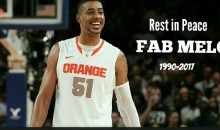 Former Celtics/Syracuse Big Man Fab Melo Has Reportedly Died at The Age of 26