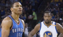 Westbrook and KD Both Asked to Be Seated Apart from Each Other in the All-Star Locker Room (Tweets)