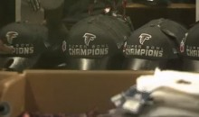 Watch This Sad, Sad Video of Stores Removing Their Presumptuous 'Falcons Super Bowl Champs' Gear (Video)
