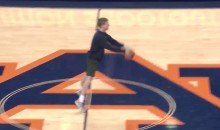 Auburn Student Hits a Half-Court Granny Shot, Gets His Tuition Covered (Video)