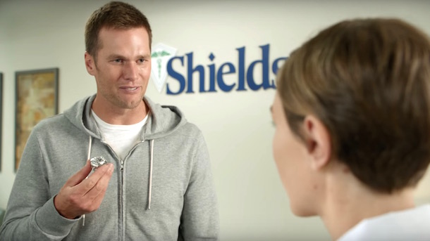 tom brady commercial five super bowl rings