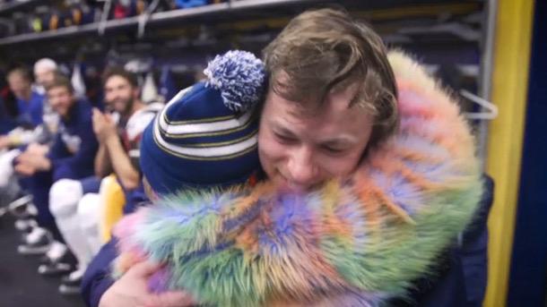 vladimir tarasenko surprises 11-year-old fan with trip