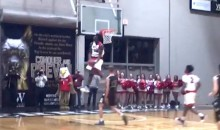 High School Player Zion Williamson Throws Down Ridiculous In-Game 360-Degree Windmill Dunk (Video)