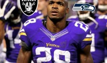 REPORT: Adrian Peterson Views Raiders, Seahawks As Desirable Landing Spots