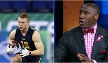 Shannon Sharpe: 'If Christian McCaffrey Was Black, He Would Be A Top-10 Pick' (Video)