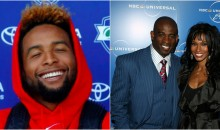 Giants WR Odell Beckham Jr. Possibly Dating Deion Sanders' Ex-Wife?  (VIDEO)