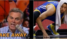 Colin Cowherd On Curry: 'He's Not an All-Time Great. Take Away His 3′s & He Has Nothing Else' (VIDEO)