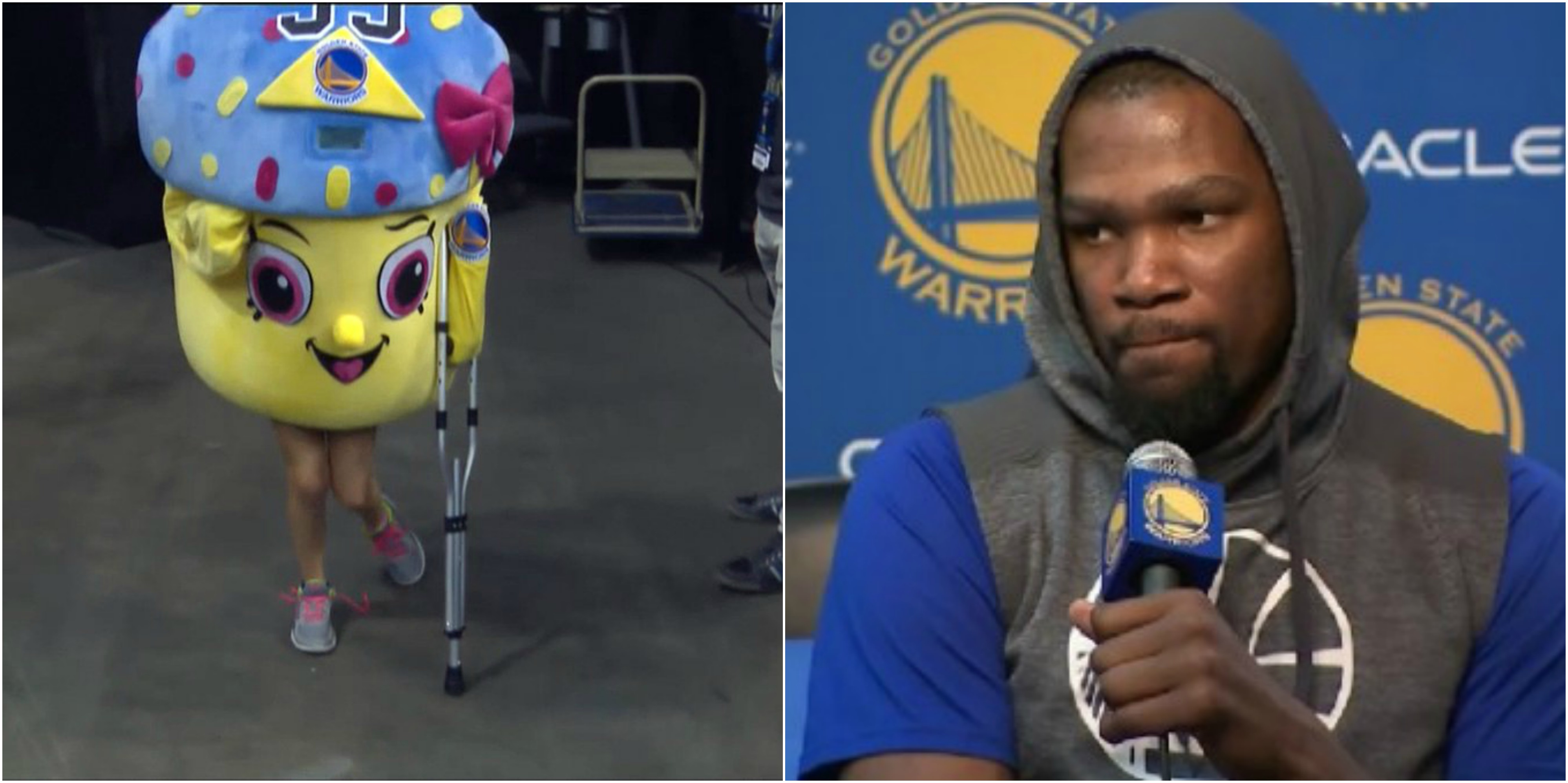OKC Thunder Fans Are Now Trolling Kevin Durant's Injury ...