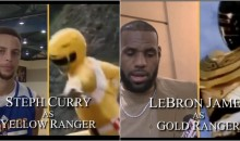 Someone Reimagined NBA Players as The Old School Power Rangers & It's Hilarious (VIDEO)
