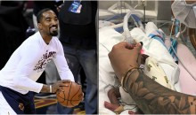 Awesome News: J.R. Smith's Daughter Who Was Born Premature Has Breathing Tubes Removed