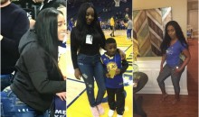 Alexandra McDonald Thanks Warriors & Others For Letting Son Meet His Hero Steph Curry (PICS + VID)