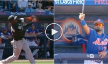 Luis Guillorme Makes The Catch of The Year As a Bat Comes Flying Towards Him (Video)