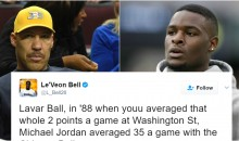 Le'Veon Bell Roasts LaVar Ball For His Claim That he'd Have Beaten Michael Jordan 1-on-1