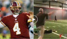 47-Year-Old Brett Favre Is Still Throwing Rocket Launchers…Time For a Comeback?? (VIDEO)