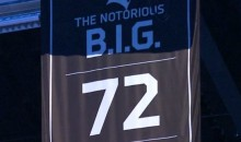 "Nets Honor Notorious B.I.G. With a Banner on ""Biggie Night"" (Pics + Vids)"